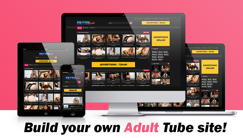 Build Autopilot Adult Tube Website Passive money maker