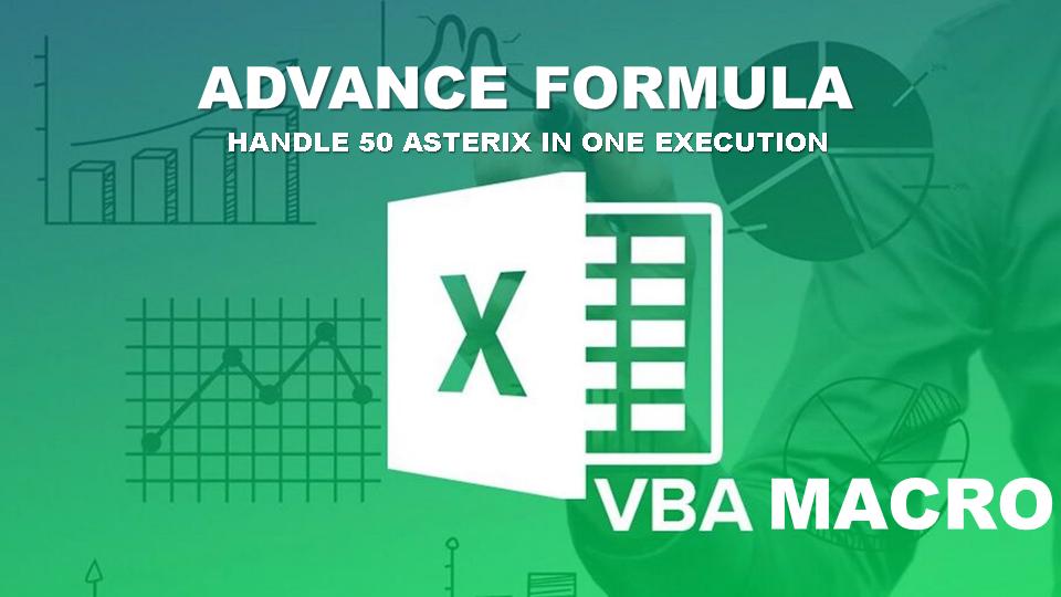 VBA/Macro Excel Formula Autofilter 50 Asterix Criteria