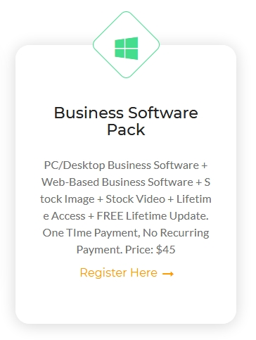 Business Software Pack - Lifetime Access and FREE Lifetime Update