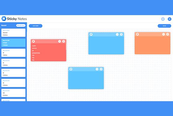 Sticky Notes - Node Js Script For Web Developer