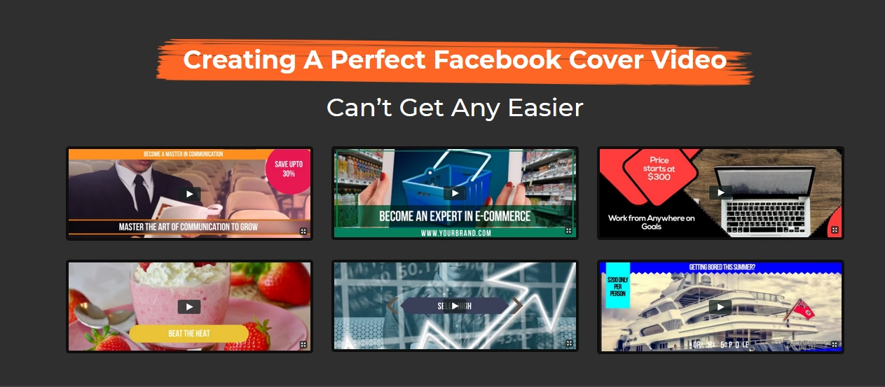 Create Stunning Facebook Cover Videos As Per Facebook Cover Video Specs Using Cover Pro