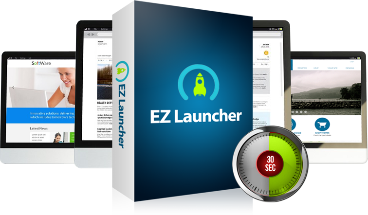 WP EZ Launcher - Launch Your WordPress in ShortTime [PLR]