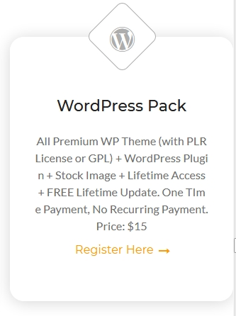 WordPress Pack Membership - Lifetime Access and FREE Lifetime Update