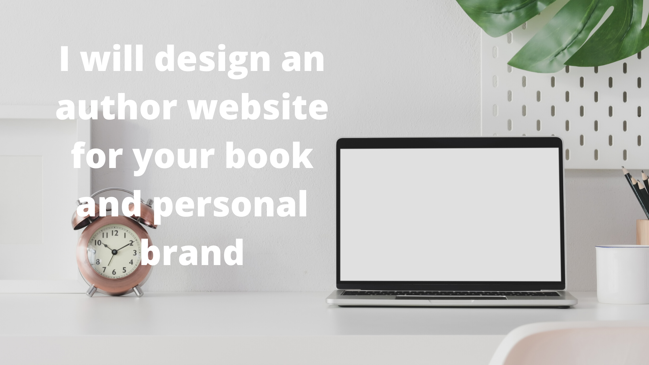 I will design an author website for your book and personal brand
