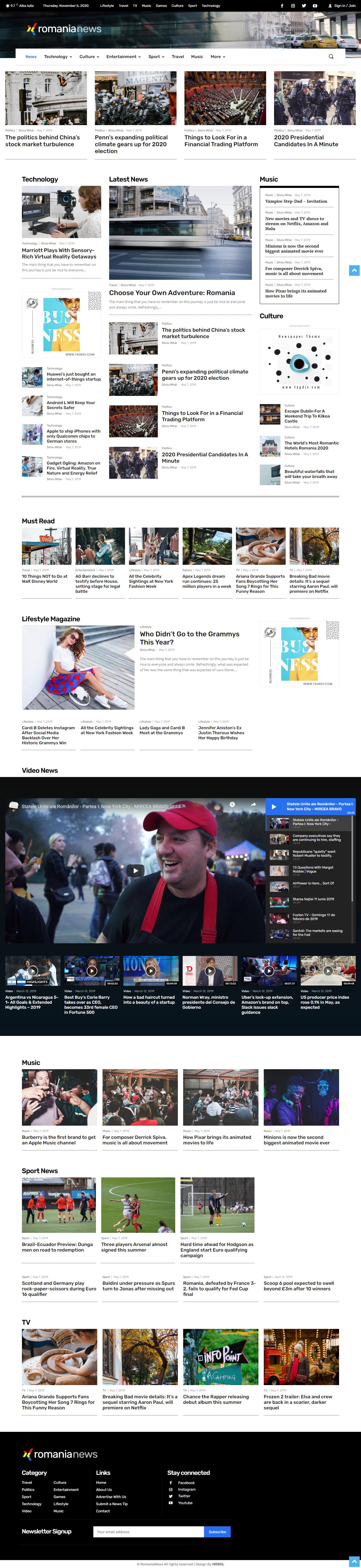 I will build a premium WordPress online newspaper website