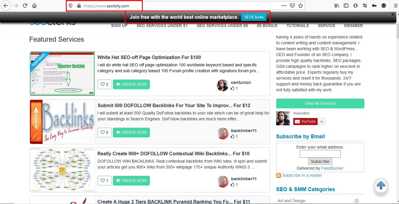 Notification Bar and Back To Top Button Set up for Your word press website