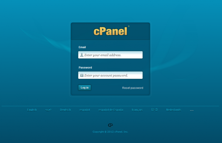 Setup cPanel email accounts matching business name
