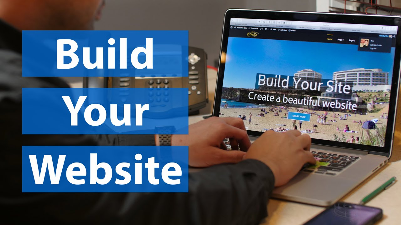 design Wordpress website for you responsive mobile friendly website