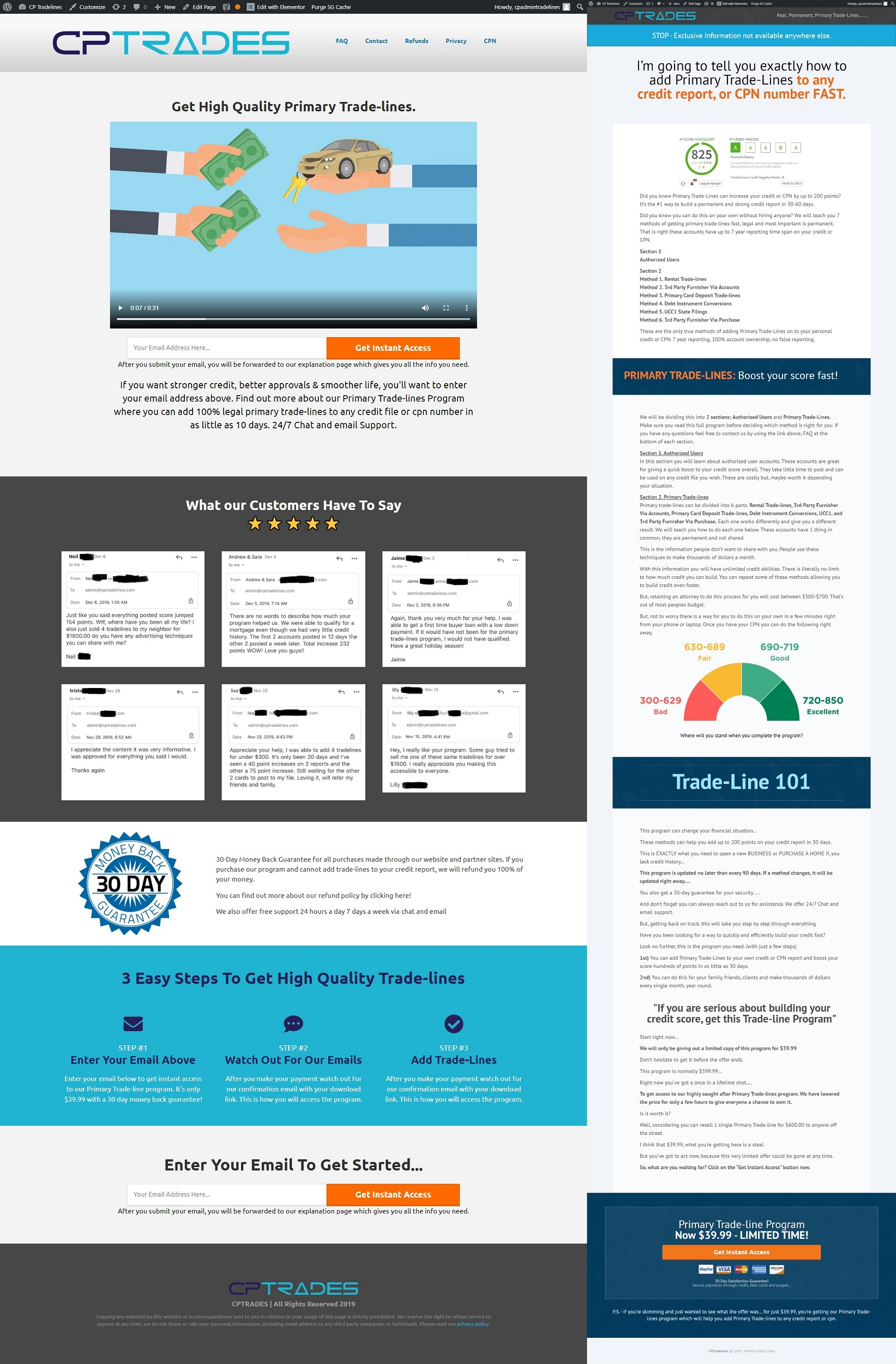 Design Funnel including Sales, Lead Capture, Membership, Webinar or Survey Funnel And SEO