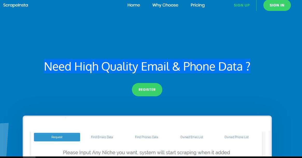 High Quality Fresh Email / Phone with niche and geo targeting