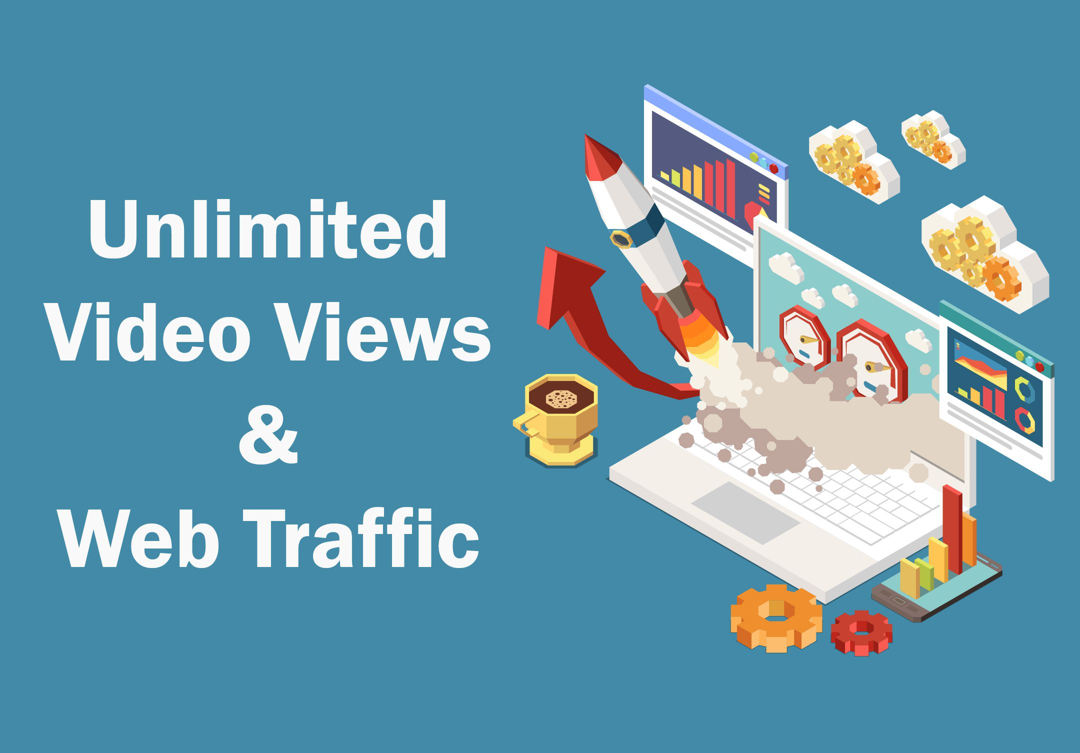 Unlimited Video and Web Traffic