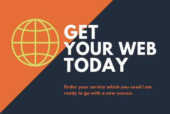Create a responsive professional WordPress website