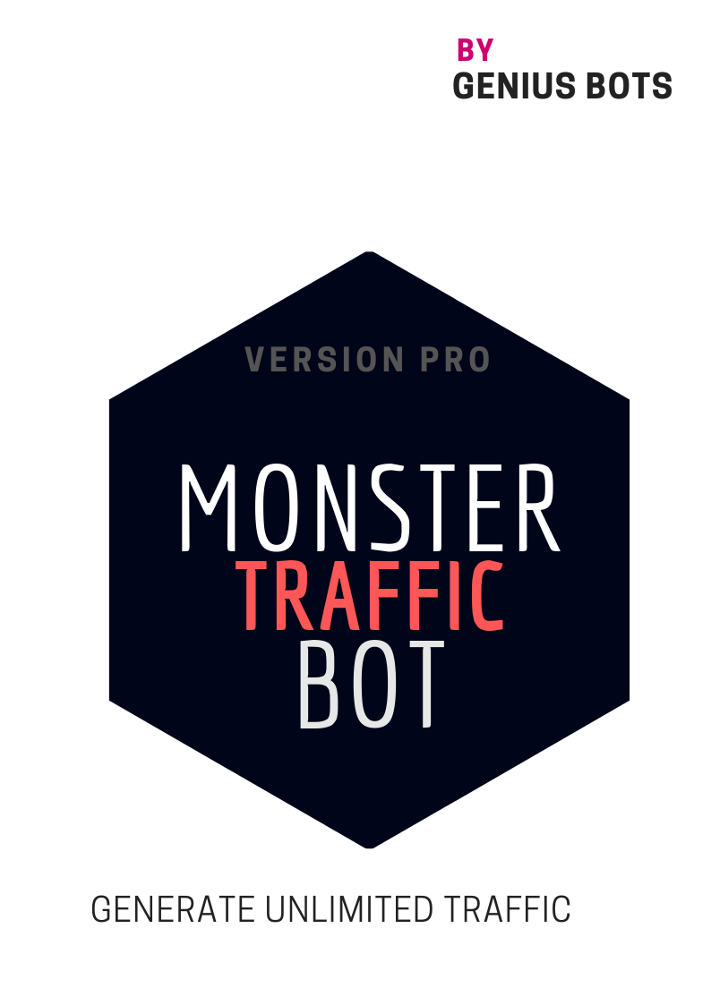 Monster Traffic Bot / use or Creat your own business by selling traffic
