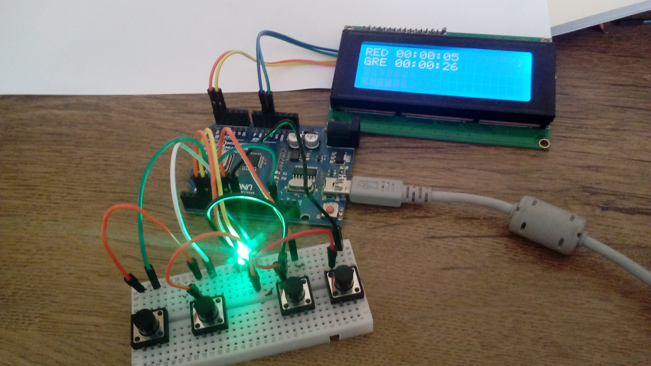 Airsoft / Paintball Button DOMINATOR - Arduino + LCD