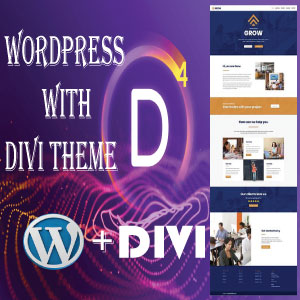 I can create responsive WordPress website by using divi theme,  divi builder