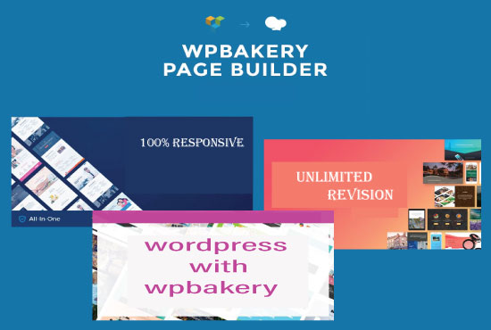 I can design One page/ Landing page WordPress website using wpbakery page builder