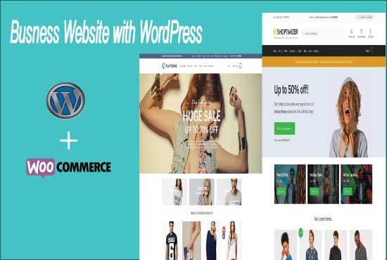 I can create ecommerce website with woo commerce