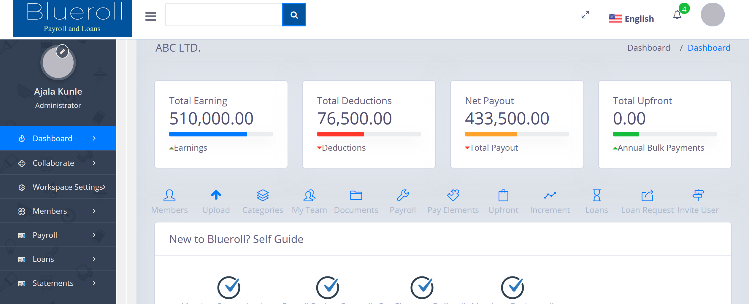 Blueroll Payroll and Loan Management System