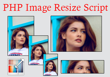 PHP Image Resize Script for JPG, GIF and PNG image types