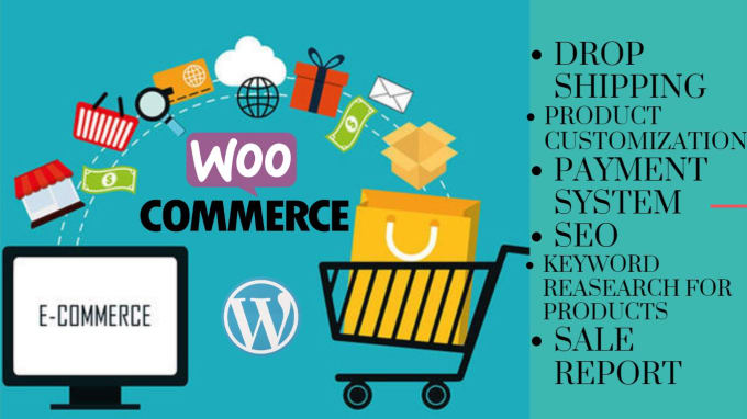I will build a professional ecommerce website
