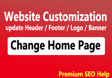 Customize Any Website theme to make a professional website