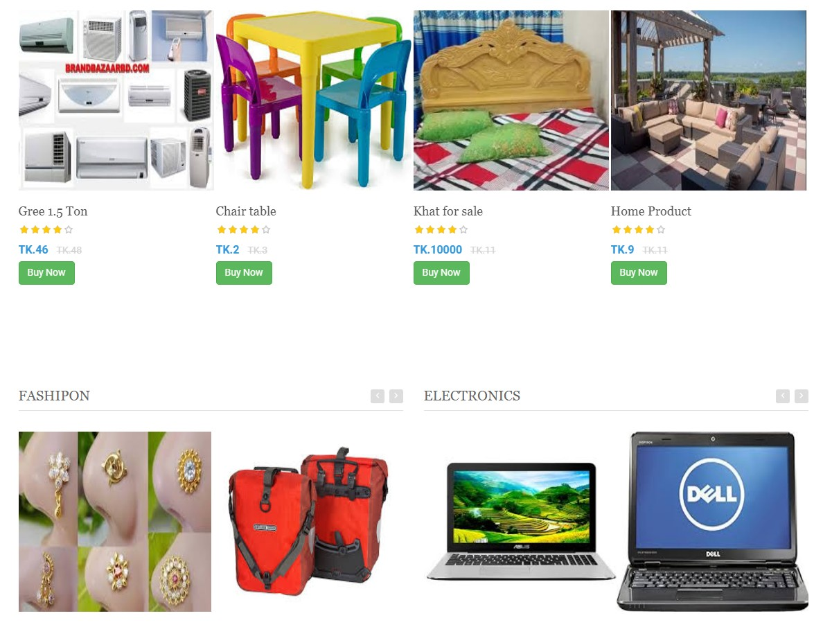 Build your online store almost free