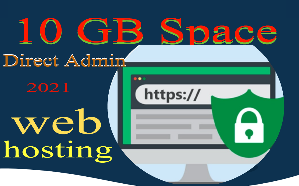World Cheapest Web Hosting 10GB,  DirectAdmin Panel - SSL free