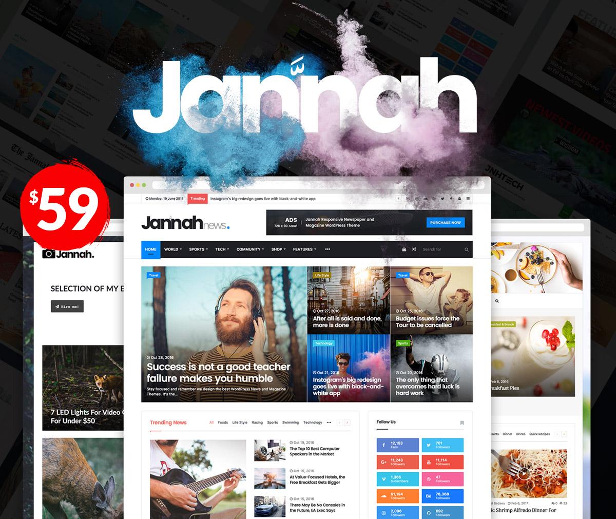 Jannah - Install Premium Jannah Theme on your wordpress