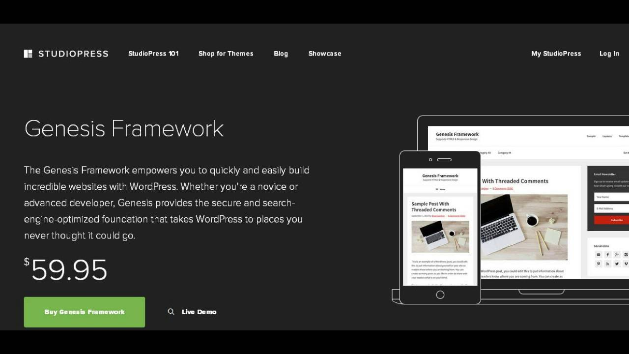 ONE HOUR Wordpress Installation - Genesis Framework And Studiopress Theme