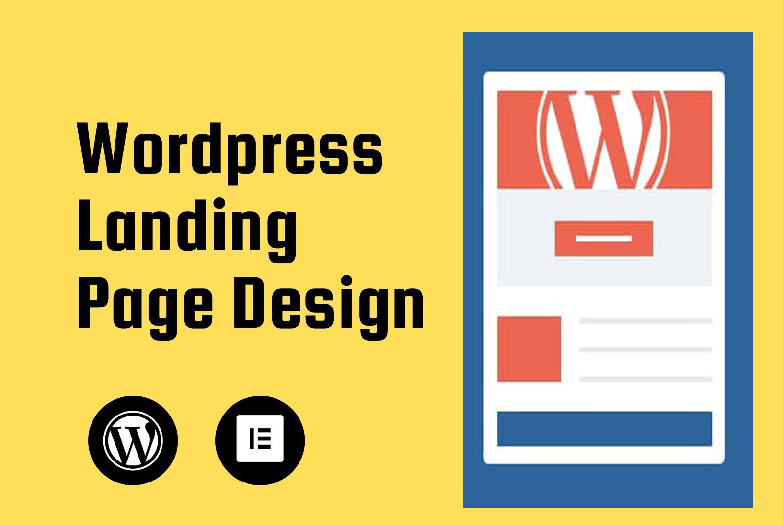 I'll create a Beautiful WordPress landing page that will be responsive & Mobile Optimized