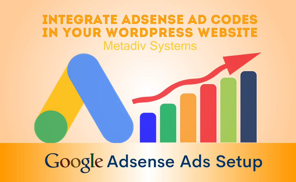 Implement adsense ad codes on your wordpress website