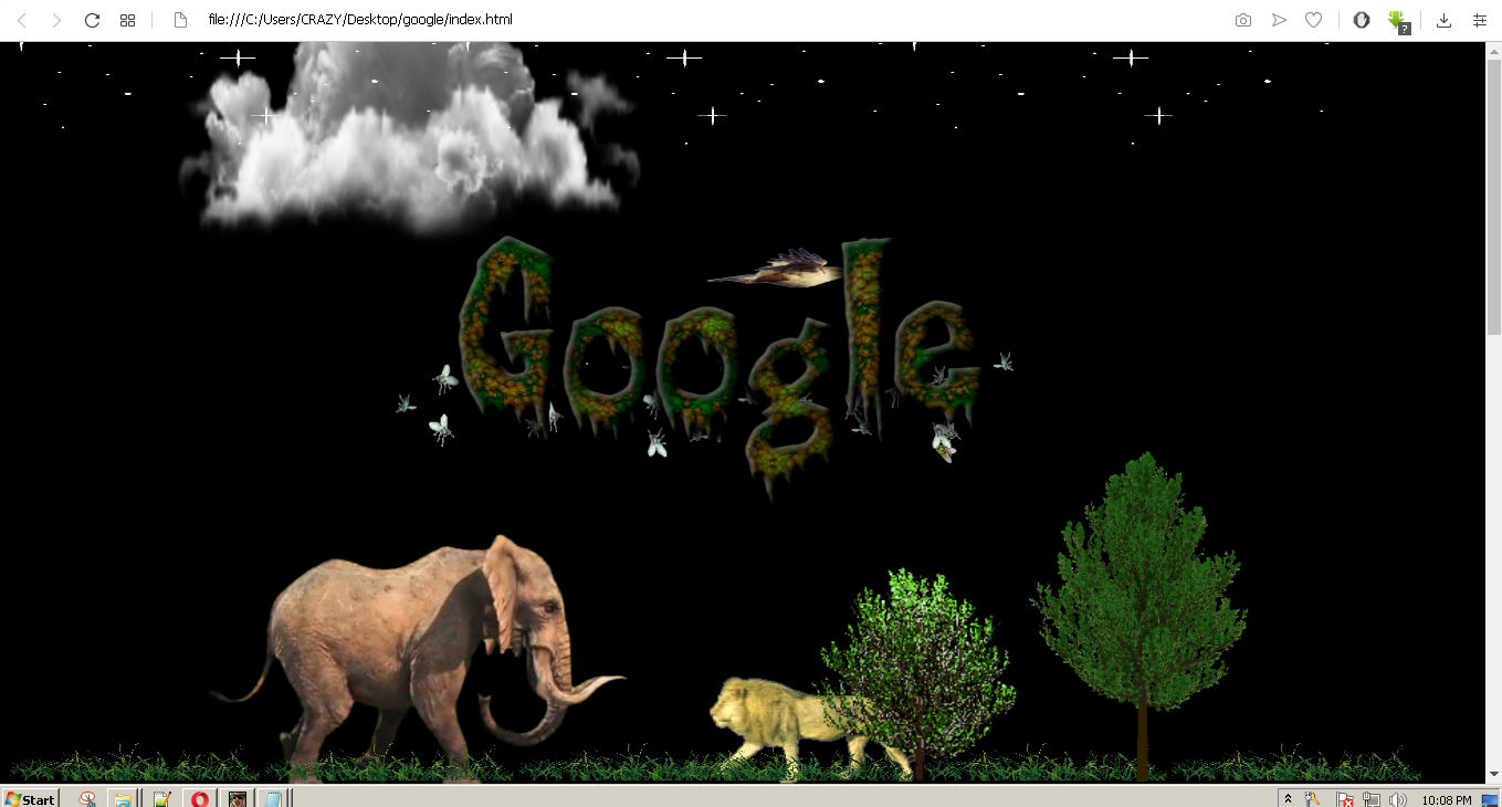 world environment day animated Google doodle