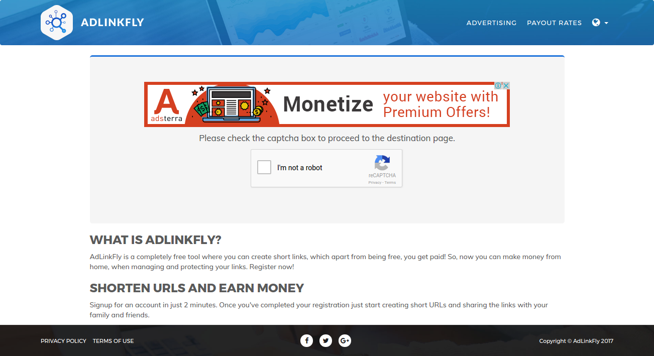 Adlinkfly is the best tool for monetising urls and links. It is a website php script and very easy .