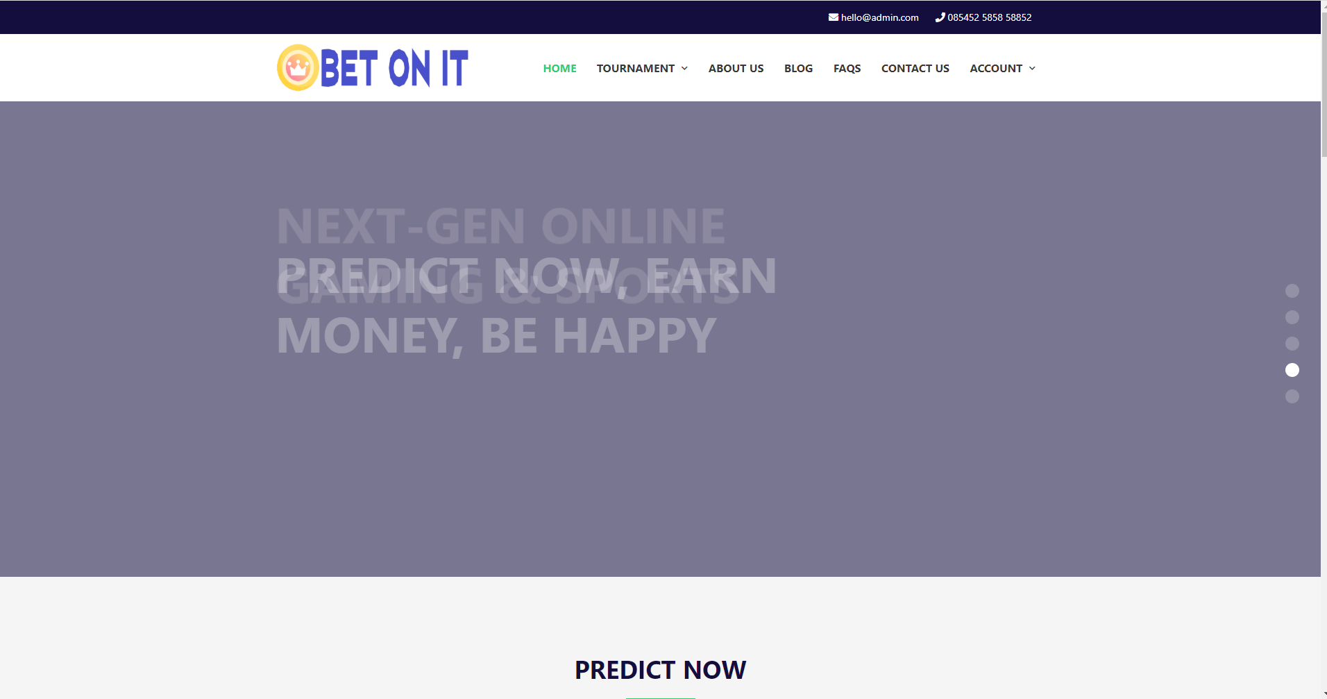 Bet On It Sports Prediction PHP Script