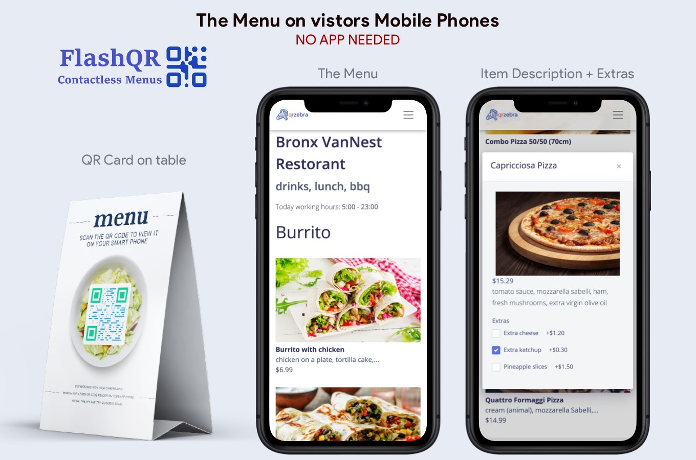 I will create for you,  a QR Menu Website with Payments