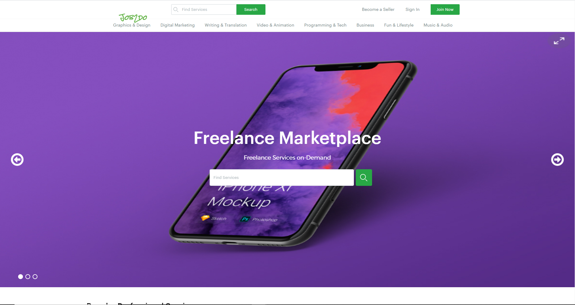 Job2Do Freelance Marketplace Script