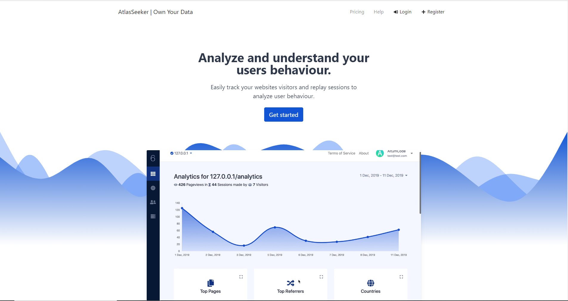 Own and Control 100 of Your Data Analytics