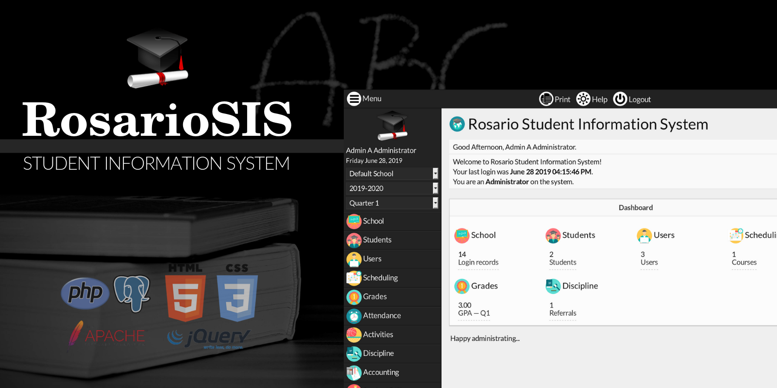 RosarioSIS Student Information System