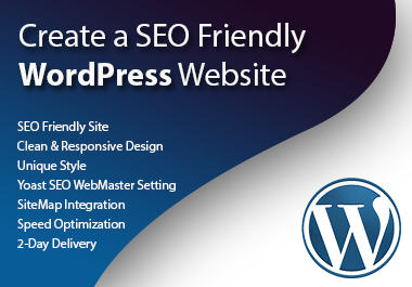 Create a SEO Friendly WordPress Website
