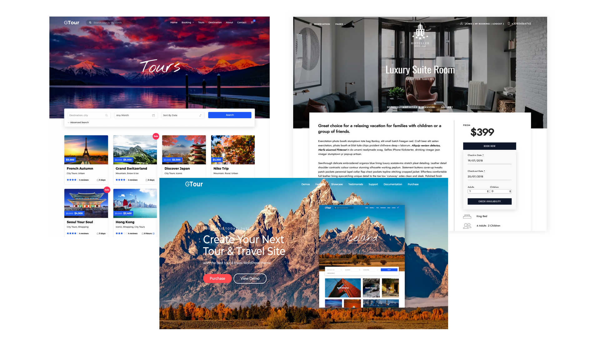 Build a hotel, flight, tours and travel booking website