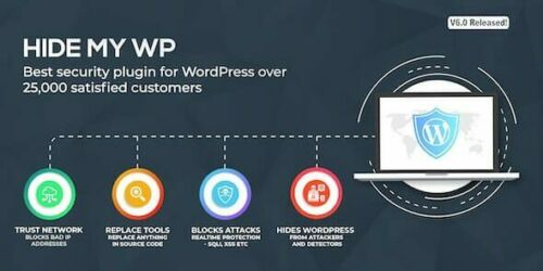 Hide My WP - Awesome Security Plugin for WordPress