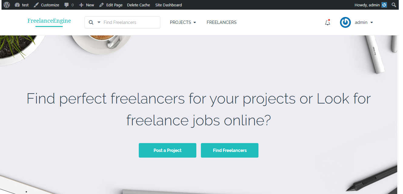 I will create a Pro Freelancer Marketplace website for you