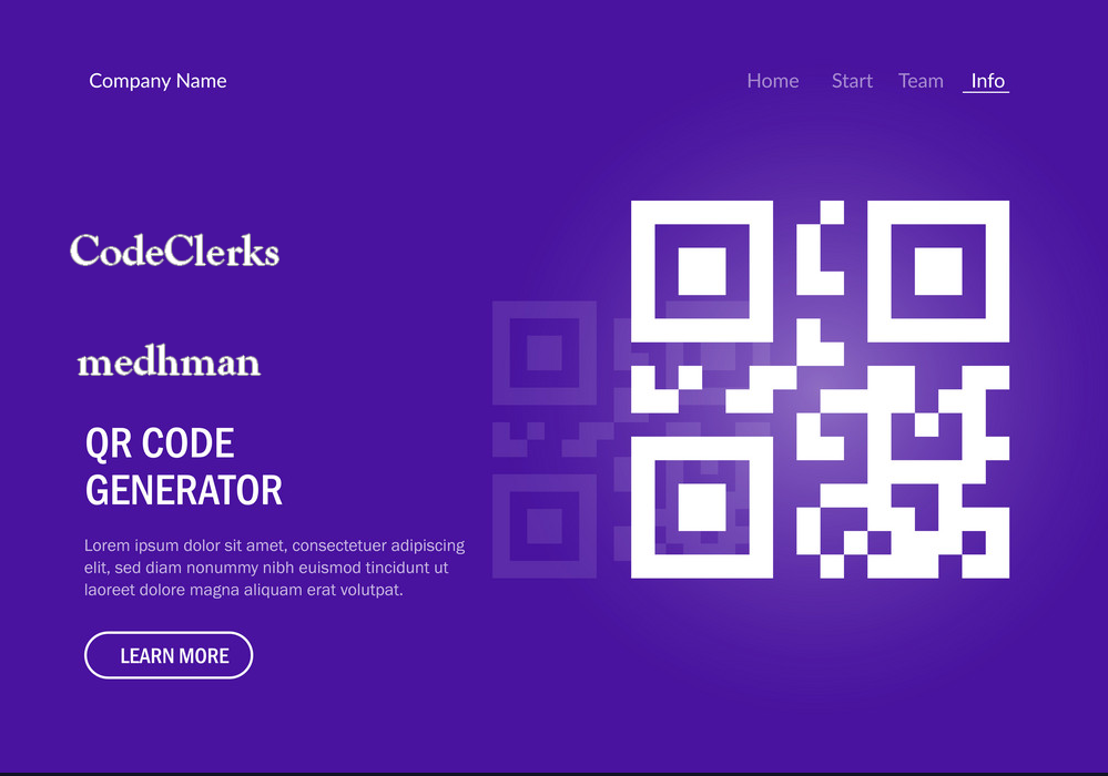 I will build QR Code Generator Website 2020 fast Delivery