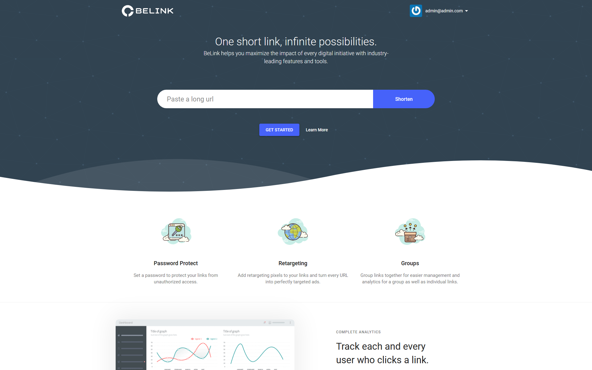 I will create Shortener URL platform -sell your plans - Full Website