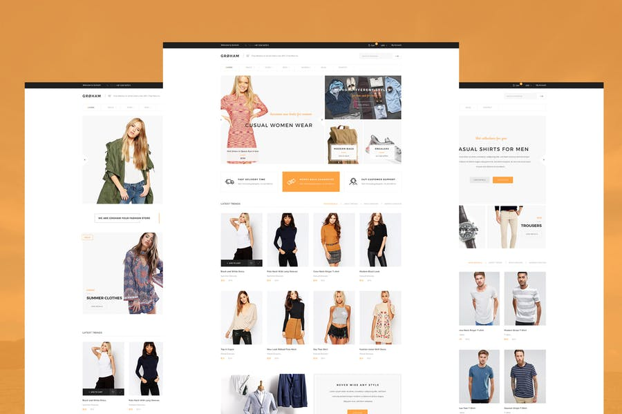 Full Website - E-commerce Store with many demos