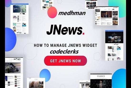 I will create a Wordpress site with premium Jannah theme