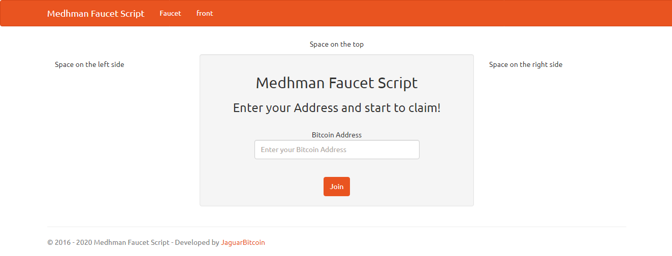 I will Create Simple Bitcoin Faucet with many Features - BTC Crypto