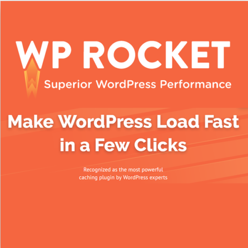 WP Rocket Pro WordPress Caching Plugin and Speed Optimization