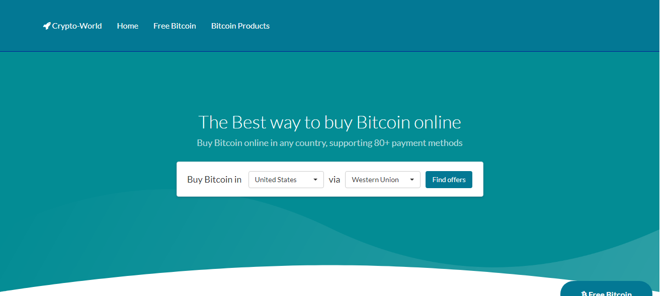I will Create for you a Bitcoin Affiliate Website