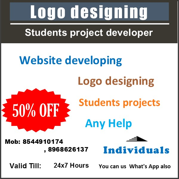 Website,  Logo & Students CSE Projects developing
